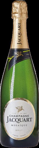 Champagne Jacquart Mosaique Brut mit Geschenkverpackung